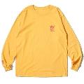 RSC × WTM L/S T-shirt(Yellow)XLサイズ