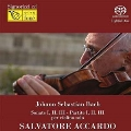 J.S.Bach: Sonate I, II, III, Partite I, II, III per Violino Solo