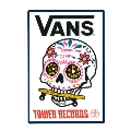 VANS×TOWER RECORDS MEX SKULL Sticker