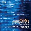 ルトスワフスキ: 交響曲 第1番 他