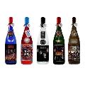 KISS「ロックレジェンズ酒シリーズ」ギフトボックス入り5本セット 第1弾+限定ボトル