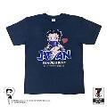 BETTY BOOP Tシャツ サッカー日本代表ver.(メトロブルー) Lサイズ