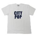 ジャンルTシャツ CITYPOP ホワイト Mサイズ