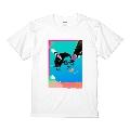 TOKYO LAB × WEARTHEMUSIC Tシャツ(ホワイト) XLサイズ