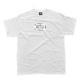 TWIGY Lyrics T-Shirt -Legendary Collection- 白/XXLサイズ