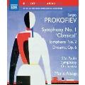 """Prokofiev: Symphony No.1 """"Classical"""", No.2, Dreams Op.6"""