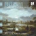 エルレバッハ: 六つのソナタ~ヴァイオリン、ヴィオラ・ダ・ガンバと通奏低音のための(1694)