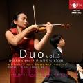 duo vol.3 L.v.ベートヴェン:ヴァイオリン・ソナタ 第9番 作品47 「クロイツェル」/J.ブラームス:ヴァイオリン・ソナタ 第3番 ニ短調 作品108