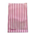 タワレコ 推し色ラッピング袋 Pink(ストライプ)