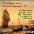 Rachmaninov: Piano Concertos No.2 & No.4