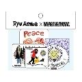 Ryu Ambe × WEARTHEMUSIC Sticker Set(5枚セット)