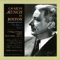 Charles Munch in Boston - 1952-1955 - Debussy, et al