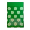 タワレコ 推し色ラッピング袋 Green(水玉)