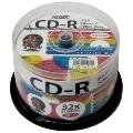 HIDISK 音楽用CD-R32倍 50枚スピンドル ワイドプリンタブル HDCR80GMP50