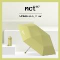 NCT127 折りたたみ傘(晴雨兼用)/Light Green