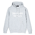Hollywood Vampires Logo Print Sweat Hoodie Gray SIZE L