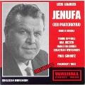 JANACEK:JENUFA (IN GERMAN:1953):P.SCHMITZ(cond)/HESSEN RSO & CHOIR/T.EIPPERLE(T)/A.JOESTEN(S)/ETC