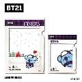 BT21 フレームクリアファイルセット/KOYA