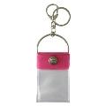 タワレコ 缶バッジキーホルダー Pink