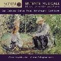 ENTENTE MUSICALE - 音楽の架け橋 - ヴァイオリンとピアノの音楽