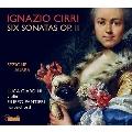 チッリ: 6つのヴァイオリン・ソナタ Op.2