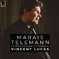 テレマン: 無伴奏フルートのための12のファンタジー/マレ: スペインのフォリア