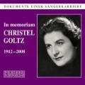 In Memoriam Christel Goltz