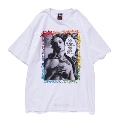 TOWER RECORDS×STUSSY Music is life Tee White/Lサイズ
