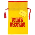 TOWER RECORDS ギフトバッグ Yellow