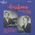 ブラームス:クラリネット・ソナタ第1番ヘ長調Op.120-1