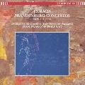 バッハ:ブランデンブルグ協奏曲3,4,5、6番