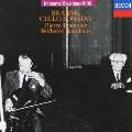 不滅のバックハウス1000: ブラームス:チェロ・ソナタ第1・2番<限定盤>