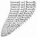 Asteroid and Butterfly<生産限定盤>