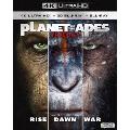 猿の惑星 トリロジーBOX <4K ULTRA HD+3D+2Dブルーレイ>