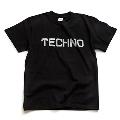 ジャンルT-Shirt TECHNO ブラック Mサイズ