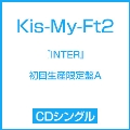 『INTER』(Tonight/君のいる世界/SEVEN WISHES) [CD+DVD]<初回生産限定盤A>