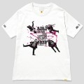 123 THE BAWDIES NO MUSIC, NO LIFE. T-shirt (グリーン電力証書付き) White/Lサイズ