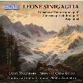 """シニガーリャ: ヴァイオリン協奏曲、ロマンスとユーモレスク、弦楽オーケストラのための2つの性格的小品より """"第1番「雨の歌」"""""""