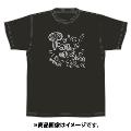 「AKBグループ リクエストアワー セットリスト50 2020」ランクイン記念Tシャツ 19位 ブラック × シルバー Lサイズ