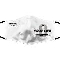NO MARINES, NO LIFE. 2020 高性能デザインマスク (ホワイト) Mサイズ (荻野 貴司)