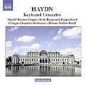 Haydn: Keyboard Concertos Hob.18-1, 5, 8, 7, 10 / Harald Hoeren(org), Ketil Haugsand(cemb), Helmut Muller-Bruehl(cond), Cologne Chamber Orchestra