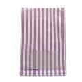 タワレコ 推し色ラッピング袋 Purple(ストライプ)