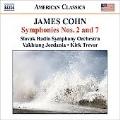 Cohn: Symphonies No.2 & 7, etc / Vakhtang Jordania(cond), Slovak Radio Symphony Orchestra, etc