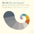 ヘンデル: 合奏協奏曲Op.6より 第1番~第6番