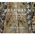 テレマン: 無伴奏ヴァイオリンのための12のファンタジア