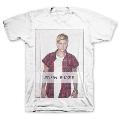 Justin Bieber Flannel Logo Tシャツ Lサイズ