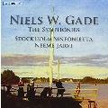 Gade: The Eight Symphonies, Violin Concerto Op.56, etc / Neeme Jarvi, Stockholm Sinfonietta, etc