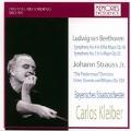 Beethoven: Symphony No.4, No.7; J.Strauss II: Die Fledermaus Overture, Unter Donner und Blitzen (1986)