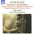 Schumann: Romances and Ballads I-IV, Romances I, II (7/1-3/2004, 2/26/2006) / Marc Michael de Smet(cond), Aquarius