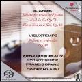 Brahms: Sonata for Violin and Piano, etc;  Vieuxtemps